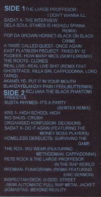 DJ Semtex - Hiphop Mix Tape 6 (Tracklist)