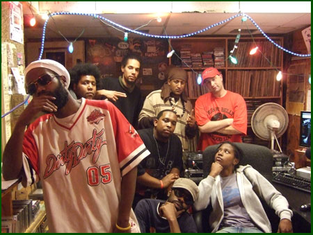 Clockwise from left: Oplex, K.C., Amond Jackson, Isreal, A to the L, DJ Acrojam, Leaf, Jay-C