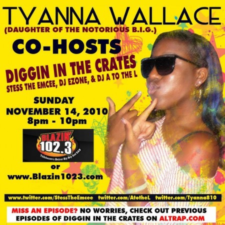 Diggin' In The Crates hosted by Tyanna Wallace