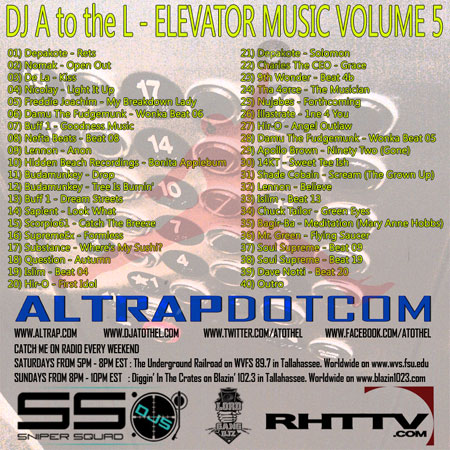 DJ A to the L - Elevator Music Volume 5