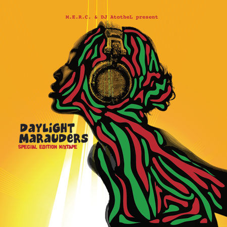 M.E.R.C. & DJ A to the L - Daylight Marauders Front Cover