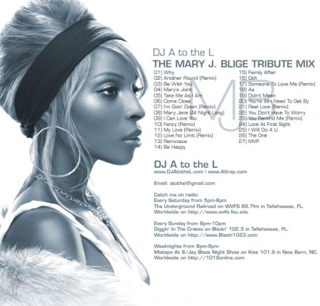 The Mary J Blige Tribute Mix