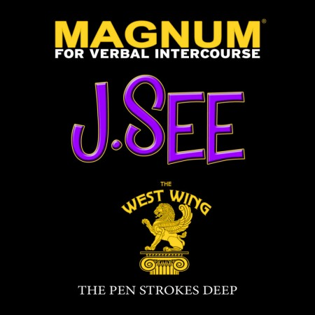 J.See - Magnum For Verbal Intercourse (Front Cover)
