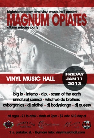 Big Lo - Magnum Opiates Release Party