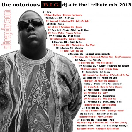 DJ A to the L - Notorious BIG 2013 Tribute Mix