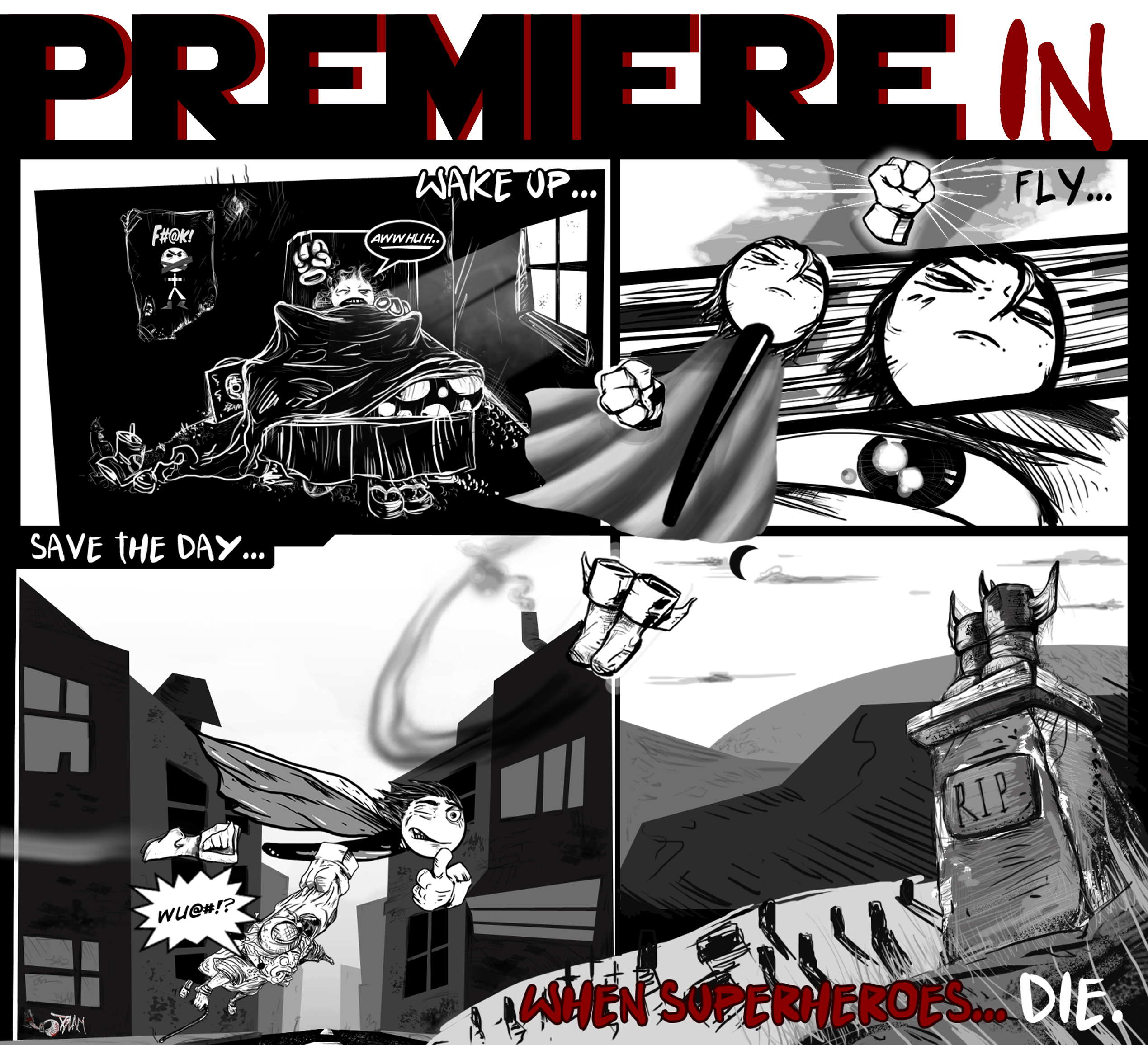Premiere - When Superheroes Die