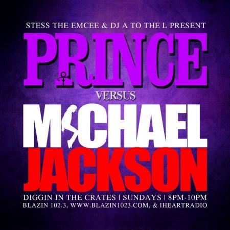 Diggin' In The Crates - Prince vs Michael Jackson tribute