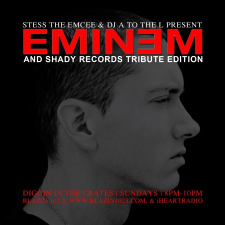 Diggin' In The Crates with Stess The Emcee & DJ A to the L - Eminem Tribute Show