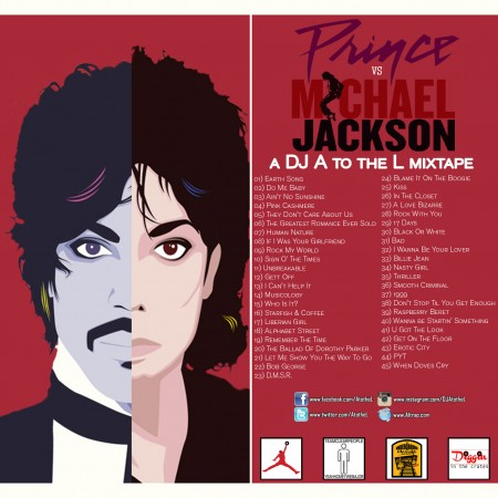 DJ A to the L - Prince vs. Michael Jackson : The Mixtape