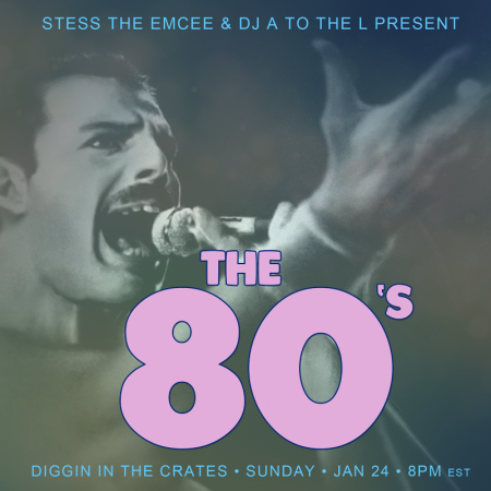 DITC 80's Pop Tribute on Diggin' In The Crates