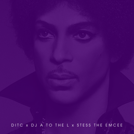 The DITC Prince Tribute with DJ A to the L & Stess The Emcee