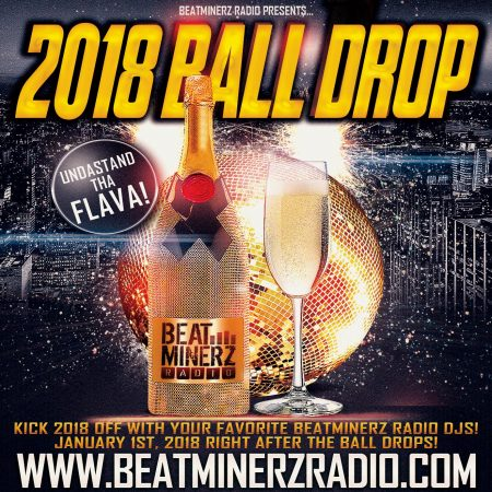 DJ A to the L 2018 Ball Drop Mix On Beatminerz Radio