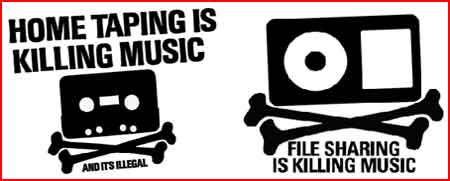 HOME TAPING IS KILLING MUSIC!!!!