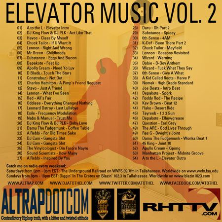 Elevator Music Volume 2 (Back Cover)