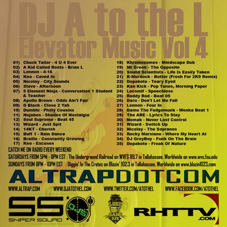 Elevator Music Volume 4 (Back Cover)