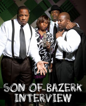 Son Of Bazerk Interview with DJ A to the L & Stess The Emcee