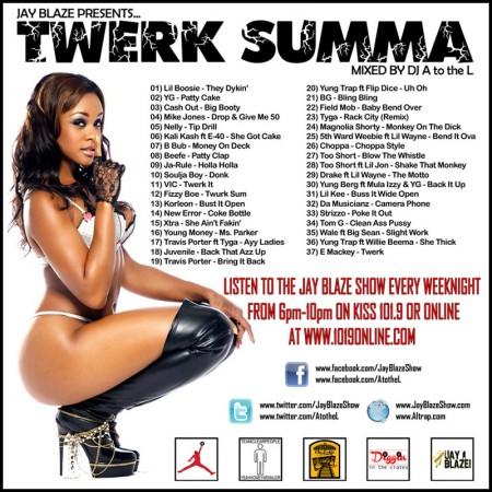 DJ A to the L - Twerk Summa