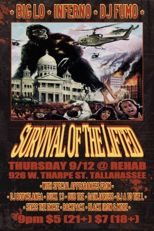 Survival Of The Lifted Tour