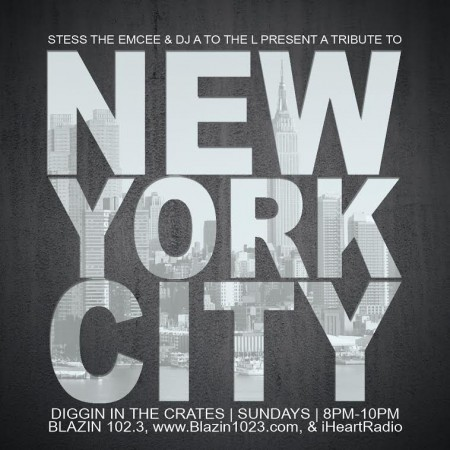 NYC DITC Tribute by DJ A to the L & Stess The Emcee