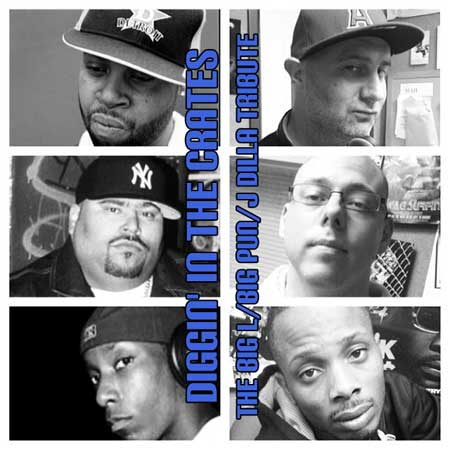 DITC - The Big L/Big Pun/J Dilla 2014 tribute