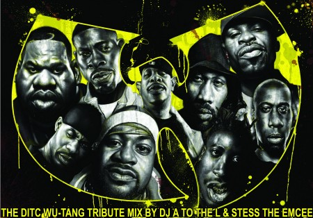 DITC Wu-Tang tribute mix by DJ A to the L& Stess The Emcee