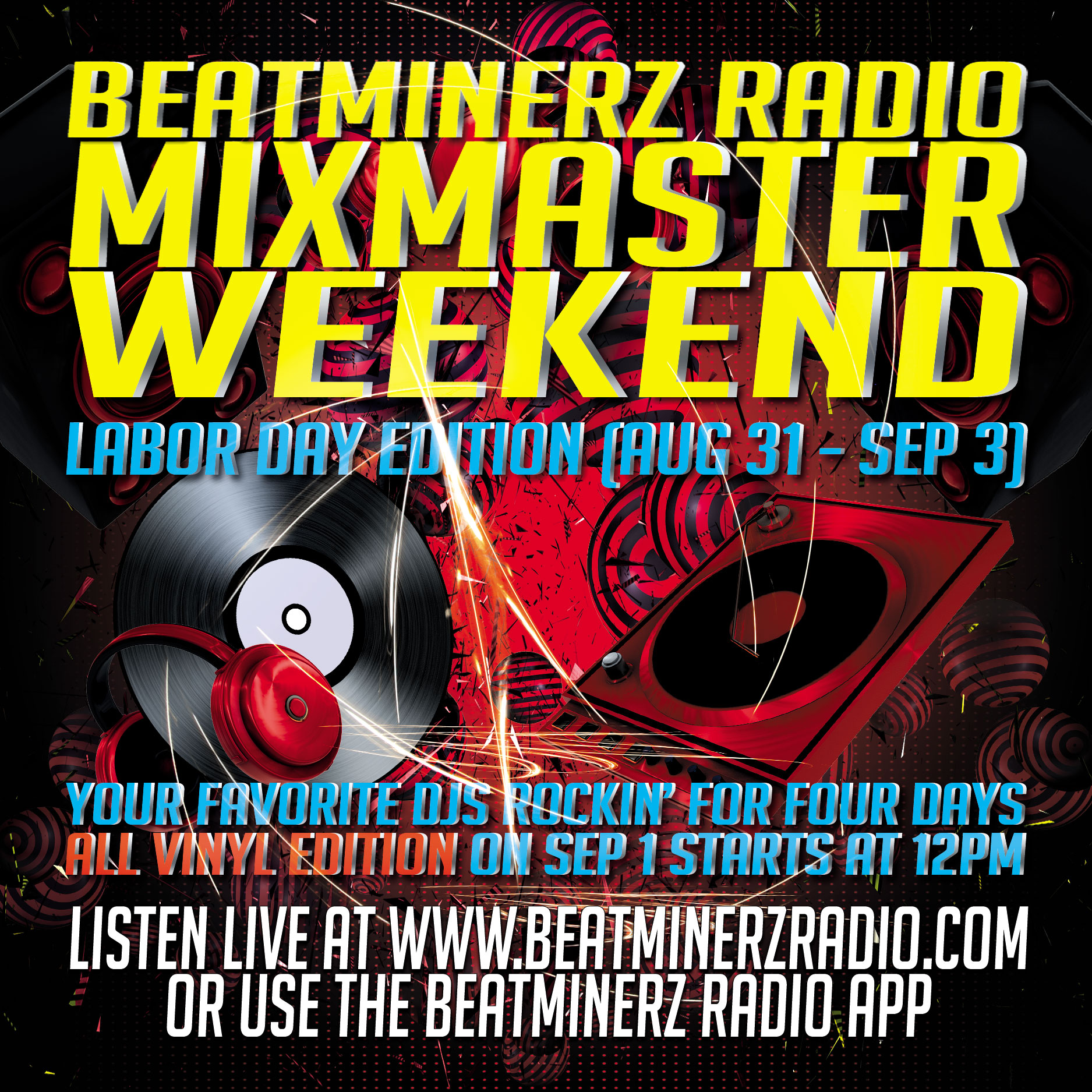 Labor Day 2018 Mixmaster Weekend On